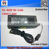 Original Brand New AC Adapter For ACER 19V 6.32A 120W Laptop Power Charger For Acer 5943G 5950G 5951G