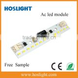 2015 direct sale AC 230V led linear module 3W Epistar LEDs 14pcs Built-in aluminum profile LED module replace wall lamp