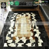 Modern Furniture And Floor Patchwork Cowhide Carpet