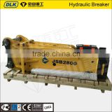 Korean technology silence type hydraulic demolition hammer/hydraulic rock hammer for sale