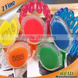 13.56mhz nfc silicone rfid bracelet /Disposable/not-reusable/Single-use 1K Bytes NFC Bracelets
