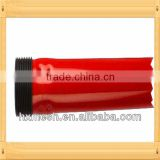 broom handle with Metal thread tip and plastic hange/ metal broom Handle /painted metal broom handle