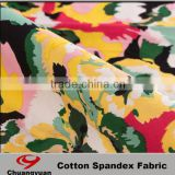 Wholesale Good Quanlity Cotton Satin Twill Combed Cotton Fabric Print Wholesale