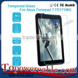 With Custom Packaging Tablets Tempered Glass HD Shield Screen Protector For ASUS Fonepad 7 FE171MG