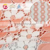 Cheap price 145/148cm super beautiful flower thin french lace fabric                                                                                                         Supplier's Choice