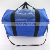 2016 Blue pvc bag hand zipper high quality insulated lunch cooler bag PVC Cooler Ice Bag china shopping                                                                                                         Supplier's Choice