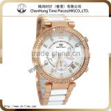 Fashion geneva japan movt louis quartz watch brand swiss ladies wrist watch stainless steel case with diamond