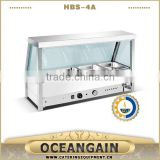 HBS-4A 4 Pan Commercial Bain Marie Buffet Food Warmer                                                                         Quality Choice