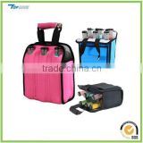 Neoprene Six Bottle Beer Cooler Portable Six Pack wine bottle Bag For Bars