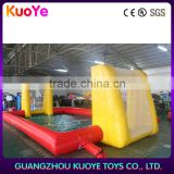 9*5m inflatable sport football games,inflatable football field,inflatable soap football field
