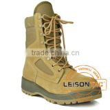 Tactical Boots made of superior suede bovine waterproof leather is Durable suitable for military