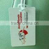 Personalized Luggage bag Tag with clear loop (M-PT342)