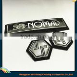 Hat/Grament logo Customer brand pvc silicone 3d patch soft custom rubber patches                                                                                                         Supplier's Choice