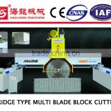 Bridge multi blade granite cutting machine marble tile cutting machine stone cutting machine                                                                         Quality Choice
