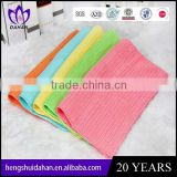 small size polyester fabric plain dyed solid color microfiber dish cloth household cleaning kitchen towel wholesaler