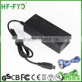 High Quality Battery Charger 42V 2A 2.5A 3A for hover boards electric fat bike kids scooters