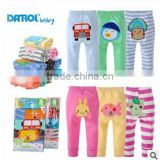 cotton pants for newborn baby, 100% cotton 5pcs pack in autumn