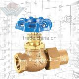 WD-1301 Lead-Free Bronze regulating Globe Valve with Union for commercial and residential applications