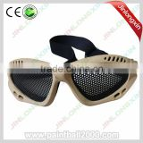 Tactical Military goggle with wire mesh goggle mask