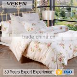 Veken products VK-T0002 250tc 40sx40s printed tencel full bed sheet set