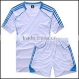The latest design cheap and fashion dry fit sport shirt and soccer team wear and soccer uniform set