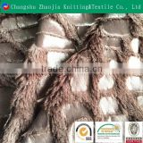 100 polyester taped waterproof PV Plush fur fabric for Garment Wholesale from China Factory
