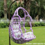 rattan hanging basket/rattan hanging relax swing chair Bali style