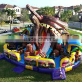 2016 Popular Newest Pirate Ship Inflatable Fun City                                                                         Quality Choice