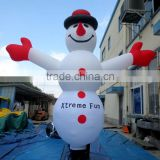 Attractive Christmas decorate inflatable snowman sky dancer
