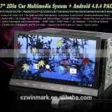 7 Inch Car PAD 2 Din Android 4.0 Digital Panel In Dash CAR PC DV Camera With Patents Universal DM7835
