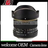 Hight Quality 6.5mm Ultra Wide F3.5 Fisheye Lens for Sony Alpha Nex Canon Nikon Olympus Pentax Digital SLR Camera
