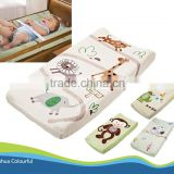 New design printing /embroidery fabric waterproof baby cloth diaper contoured changing pad