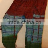 SS2577 Cotton Trouser 3d Tie Dye Batik sarouel Vetement Supplier India Pantalon Falda Harem Pants Alibaba Trousers Vintage Sari