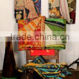 Vintage kantha quilt indian patchwork quilt vintage quilt indian throw twin kantha throw