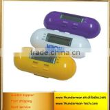 Digital Pill Shape Pedometer with Step Counter and Calories function