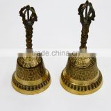 Hot selling Vintage counter domestic service copper bell brass hand bell