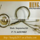 LED light hanging kits wire rope /ceiling system