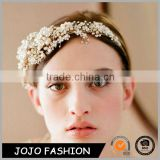 New bride wedding crystal flower headband wedding hair accessories                                                                                                         Supplier's Choice
