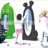KAIQI classic Plastic Toys Series KQ50147A animal shape magic mirror LLDPE plastic playground equipment for kids