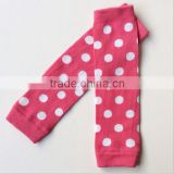 JPANT150411NEW BABY BOYS GIRLS KIDS POLKA DOT RUFFLE ARM LEG WARMER SOCKS LEGGING