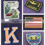 Custom High Quality 3D Embroidery Patch 3d Embroidered Patch Wholesale brands Patch For Clothing