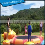 Inflatable water trampoline,water inflatable jumper,inflatable water bouncer for kids and adults
