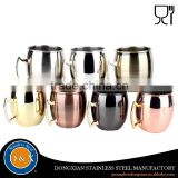 Hammered pure absolut 100% solid manufacturer moscow mule copper mugs wholesale for smirnoff vodka and ginger beer/cocktail                                                                                                         Supplier's Choice
