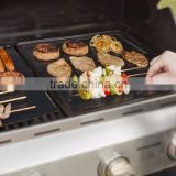 BBQ Grill Mat - Set of 2 Mats - High Quality, Thick, Durable, Non-Stick, Heat Resistant and Dishwasher Safe