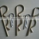 zinc plated R split spring cotter pin