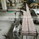 stainless steel/carbon steel top chain conveyor