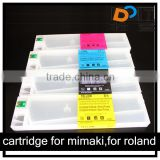 Eco-solvent ink cartridge for roland vs-640 kits refills 4/6/8 colors