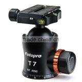 Professional Fotopro heavy duty tripod ball head for camera mount