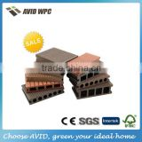 China new decking Building Material good price extruded WPC wood plastics composite decks