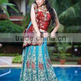 designer party wear lehenga saree online shopping
